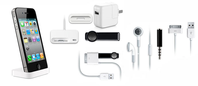 Accessories designed to work with Apps and your iPhone.